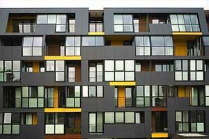 Возведение фасадов модульным способом