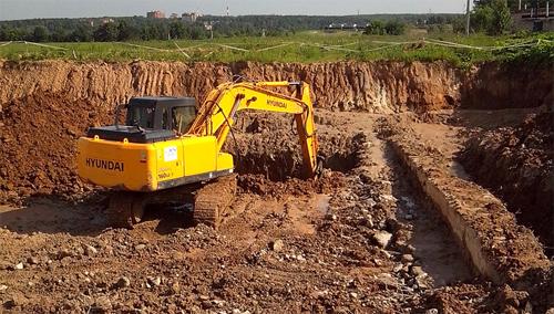 Подготовка площадки для строительства