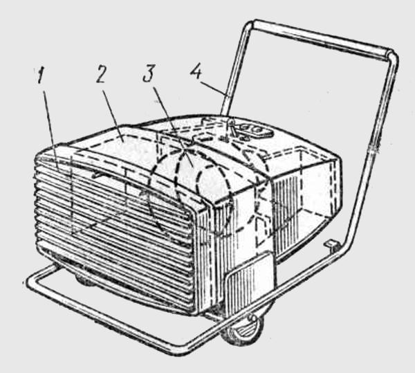 Электрокалорифер ЭКМ-20