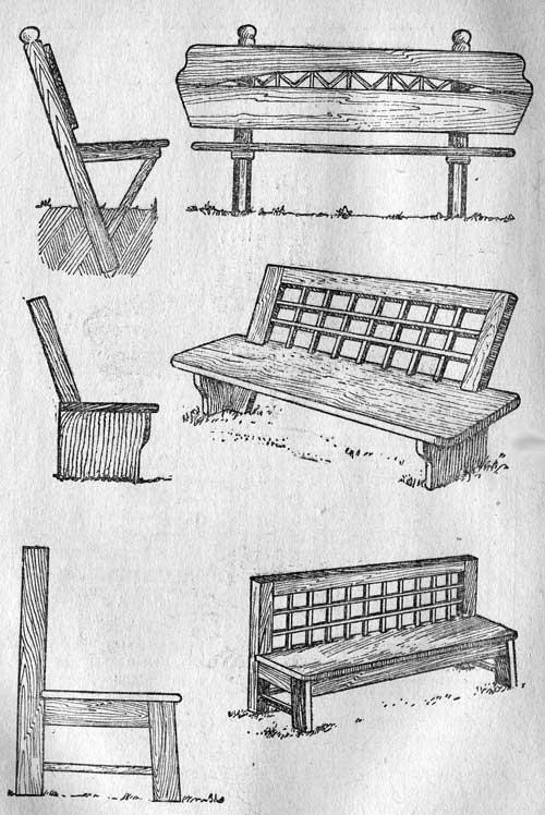 Садовая мебель (Установка)