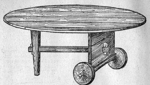 Передвижной стол