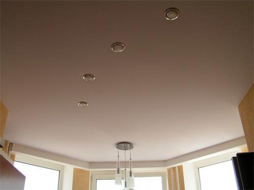 Основные особенности тканевых натяжных потолков