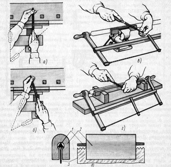 Как наточить ножовку по дереву в домашних условиях 11