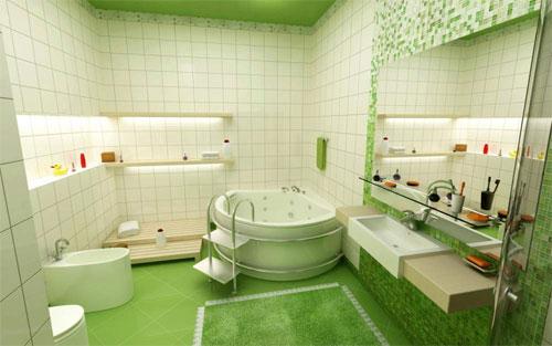 Стиль в ванной «Экзотические тропики»