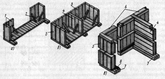 Схема монтажа стен дома панельной конструкции