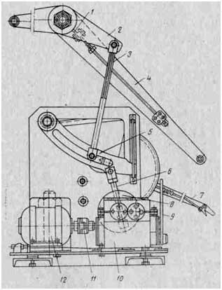 принципиальная схема системы смазки