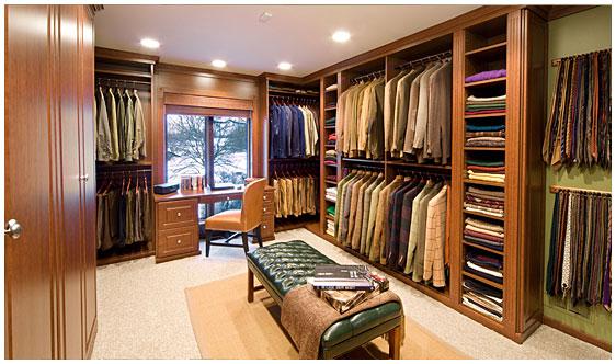 Фото дизайн гардеробной комнаты