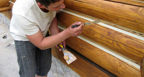 Герметик для деревянных зданий