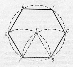 Построение шестиугольника