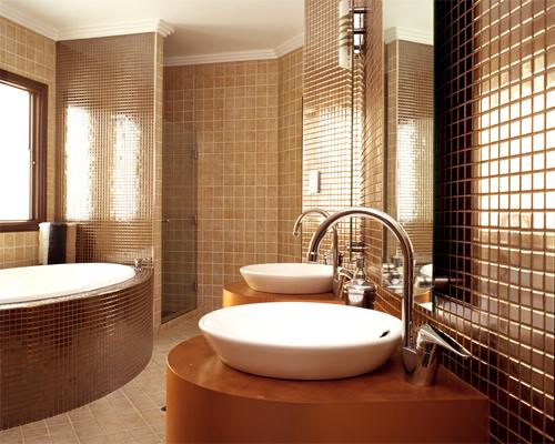 Как выбрать мозаику для ванной комнаты