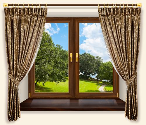 Качественные деревянные окна: секрет правильного выбора
