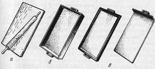 Приспособления для раскатывания и выпечки мучных изделий