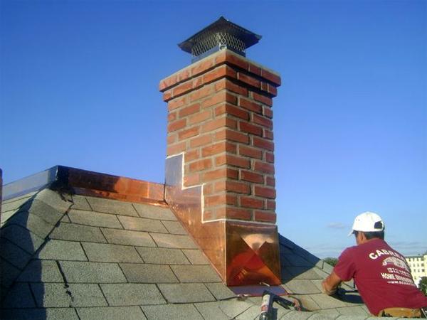 Оптимальная высота дымохода по сравнению с коньком крыши
