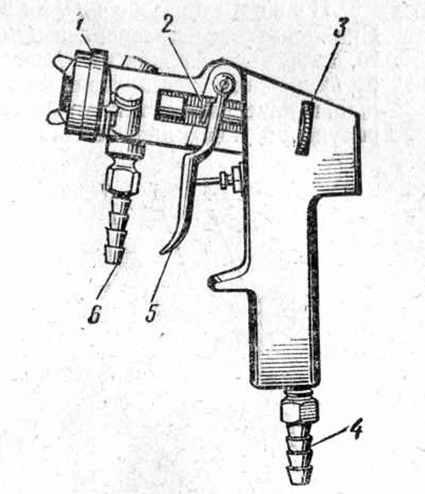 Краскораспылитель универсальный СО-87