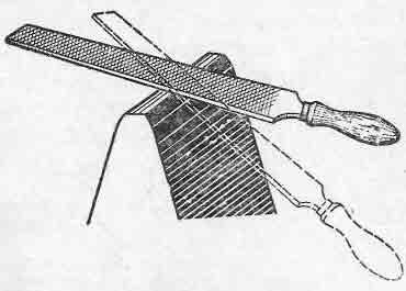Классификация напильников
