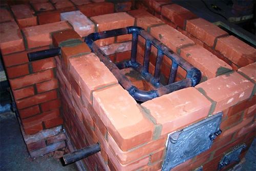 Печь с теплообменником для бани