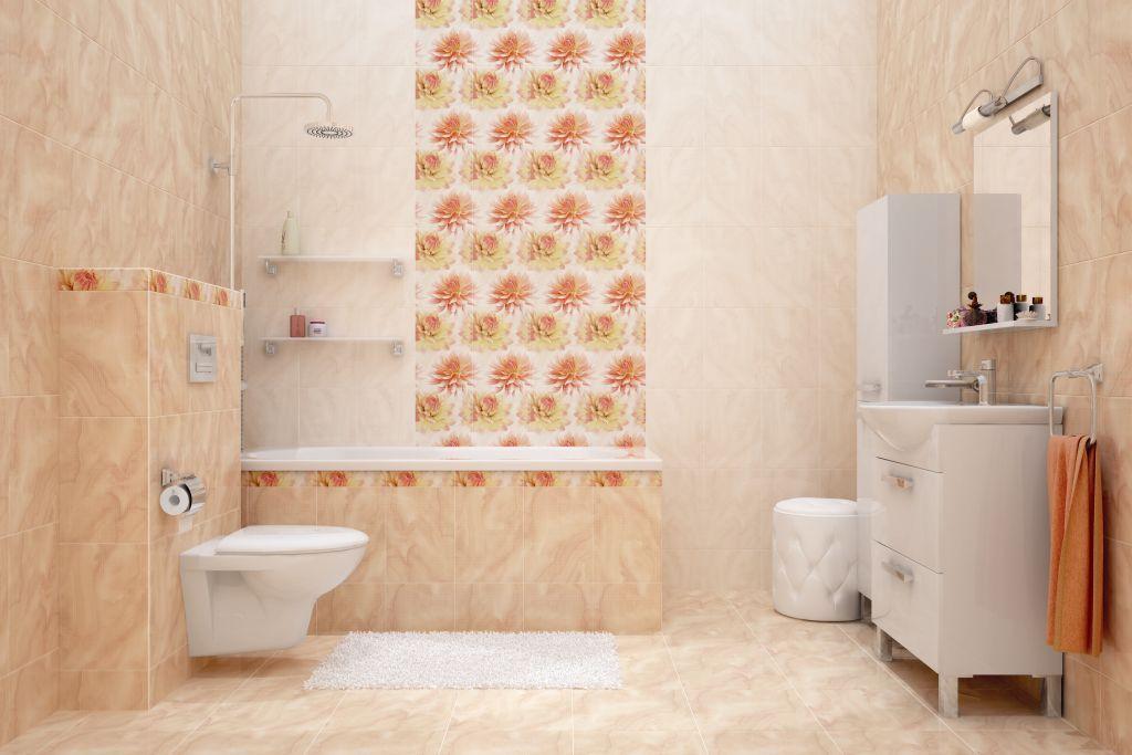 Плитку какого размера выбрать для ванной комнаты