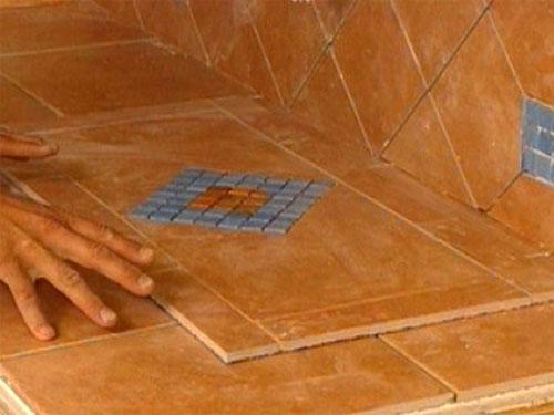 Подготовка стеклянной плитки