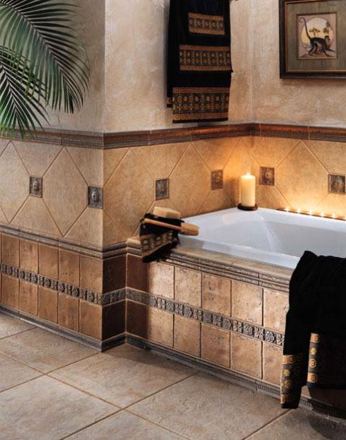 Индивидуальный выбор плитки для ванной