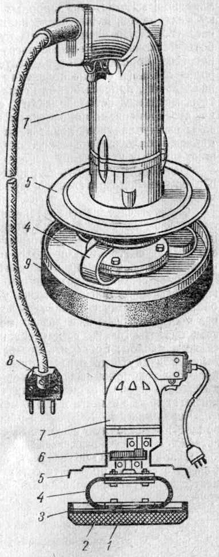 Электрошлифовальная машинка ЭШМ