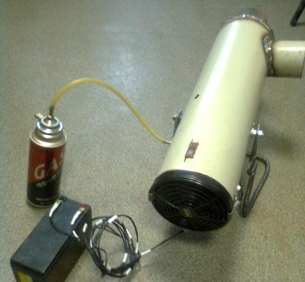 Газовую пушку сделать своими руками фото