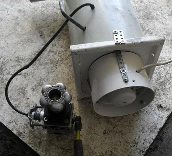 Как сделать газовую пушку видео