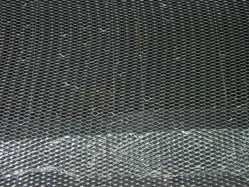 Установка металлической сетки