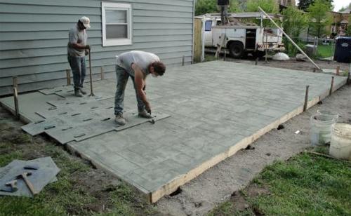 Зпливка бетона