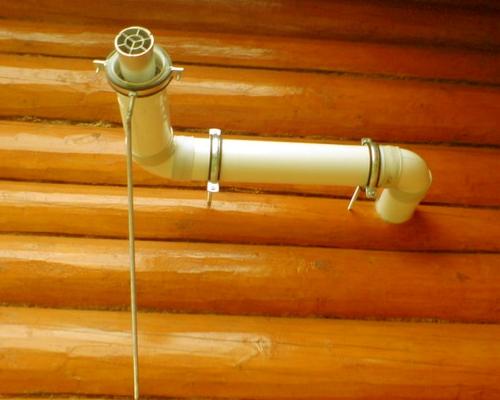 Горизонтальная коаксиальная труба