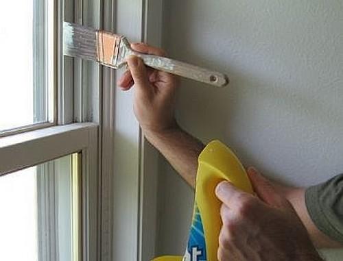 Как выбрать краску для покраски окна