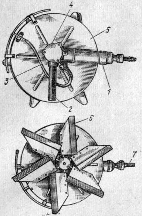 Пневматическая затирочная машина СО-54