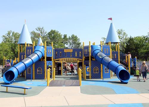 Детская площадка - сложный объект
