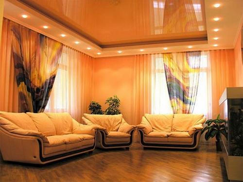 Заказать лучшие натяжные потолки для зала
