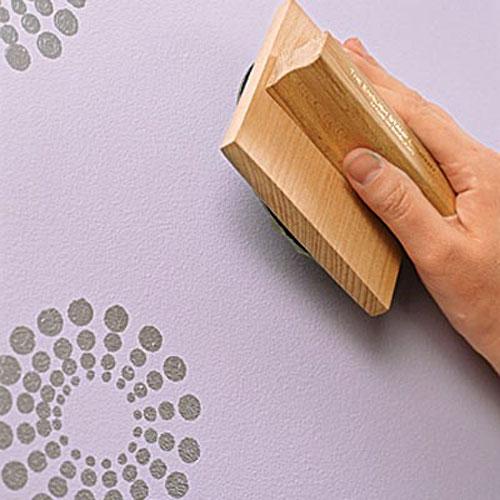 Декоративная покраска стен своими руками - 10 вариантов!