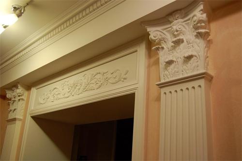 Архитектурные элементы для фасадов и интерьера