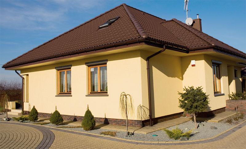 Фасад домов своими руками фото