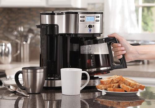 Как работает кофемашина?