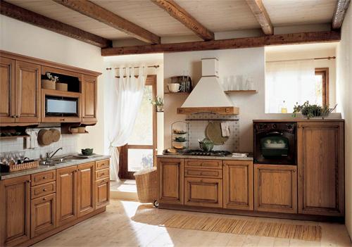 Высококачественные кухни из дерева