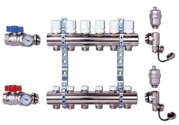 Регулирующие клапаны для радиаторов