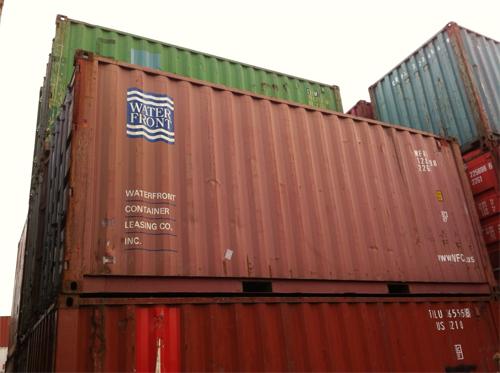 Выбираем грузовой контейнер