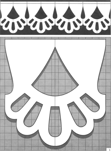 Трафареты и орнаменты наличников на окна