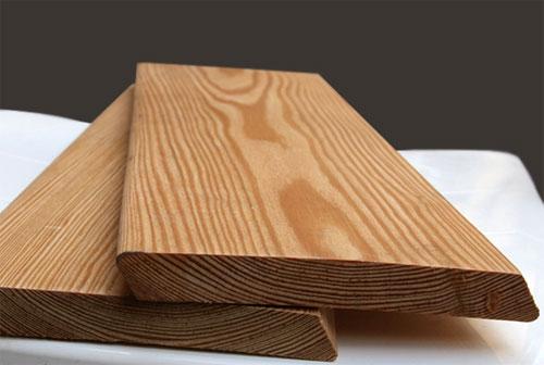 Забор из планкена лиственницы: технология монтажа