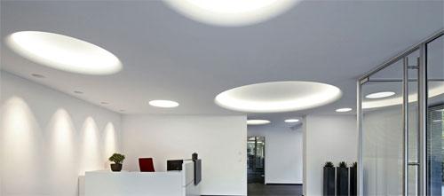 Современные светодиодные встроенные светильники