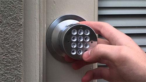 Принцип работы кодированной двери