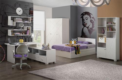 Выбираем молодежную мебель для подростка