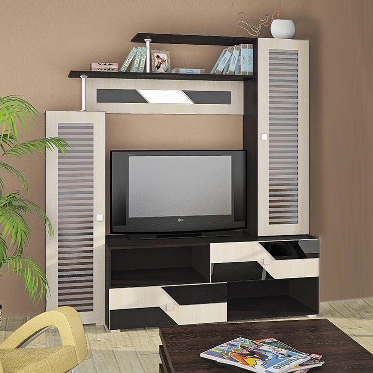 Разннобразие мебельных стенок для гостиной