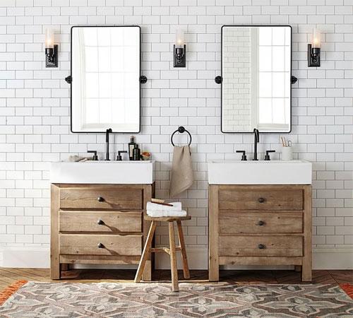 Как выбрать зеркало и стеклянные элементы в ванную?