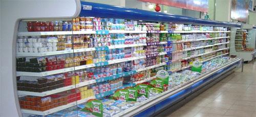 Принцип работы витринных морозильников и холодильников