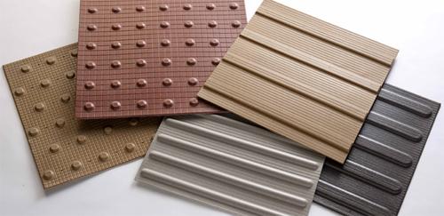 Тактильная плитка - заботливый стройматериал