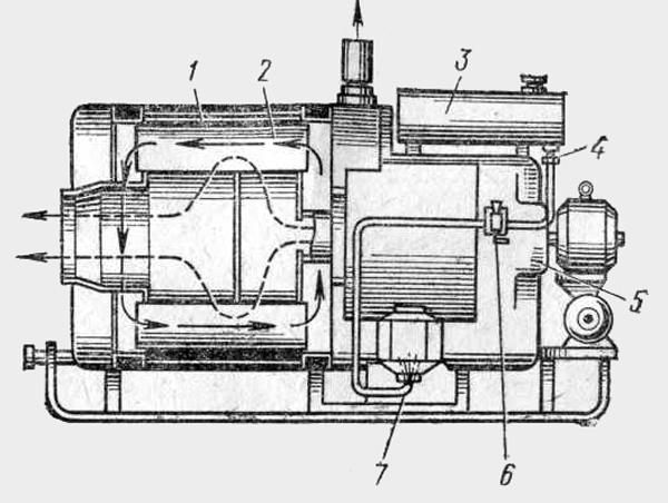 Моторный подогреватель МП-44Б